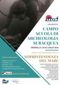 CAMPO SCUOLA ARCHEOSUB - ORCA PALERMO